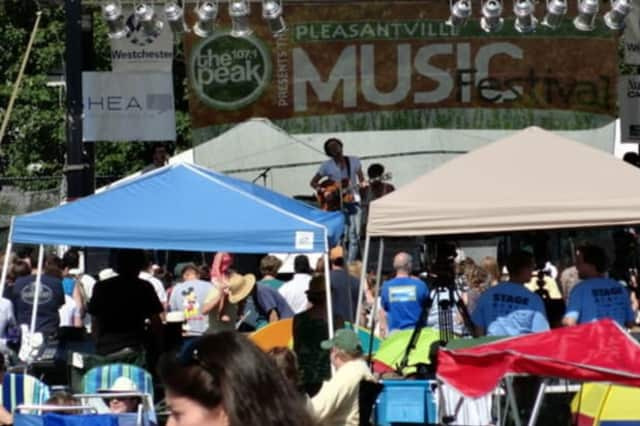 The Pleasantville Music Festival takes over Parkway Field on Saturday.