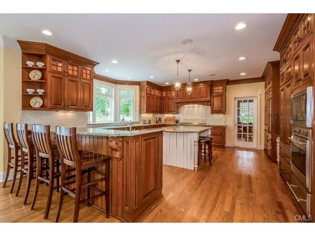 Take a tour of the home at 82 Buckingham Ridge Road in Wilton this Sunday during an open house.