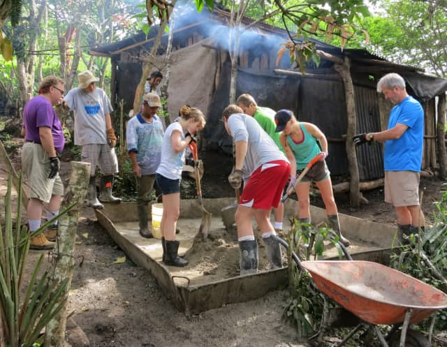 A Larchmont church joined with Bridges to Community, a nonprofit community development organization based in Ossining, to coordinate a service trip to Nicaragua.