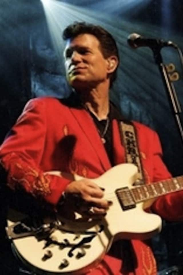 Singer-songwriter Chris Isaak will perform at the Capitol Theatre in Port Chester Saturday night.