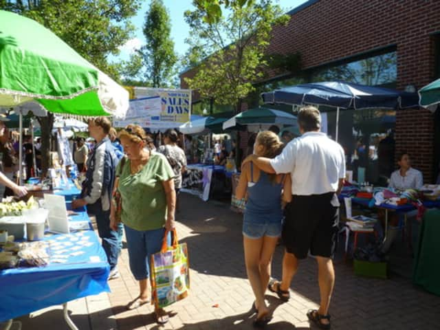 Last year, about 150 tables blanketed the downtown shopping district for Mount Kisco's biggest Sidewalk Sales Days event ever.
