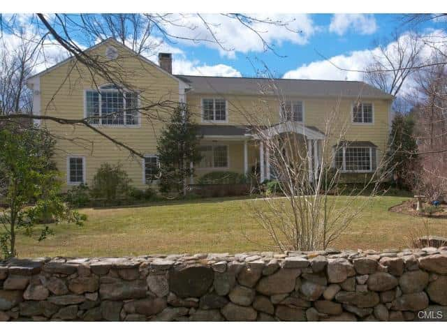 The home at  19 Blue Ridge Lane in Wilton recently sold for $1.2 million.