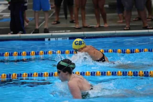 Chappaqua Swim Team topped Pleasantville in a Northern Westchester Swim conference meet.