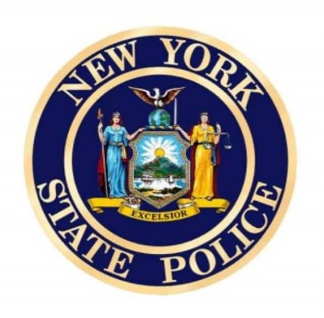 State Police conducted a safety check outside FDR State Park in Yorktown on Sunday.