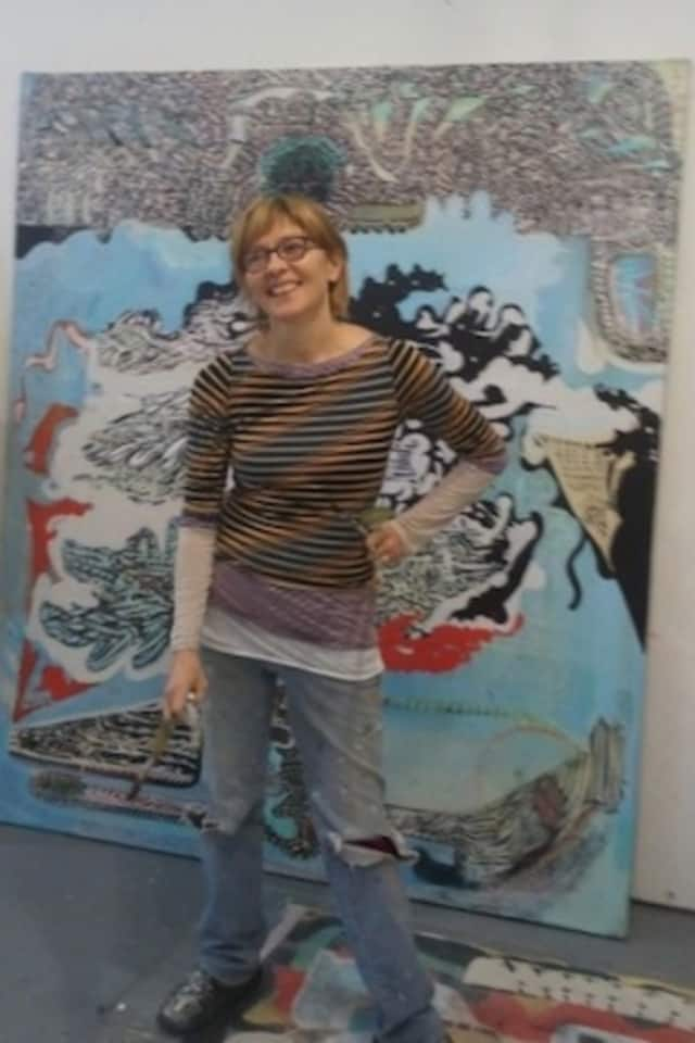 Sharon Horvath, a professor of painting and drawing at Purchase College in Harrison, has won a Fulbright Grant to study art in India next year.
