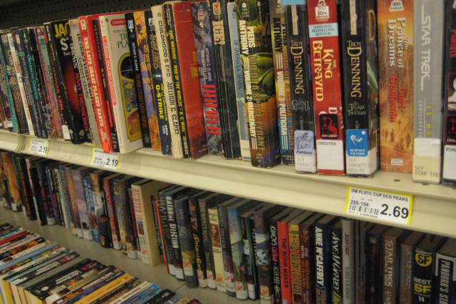 Stop by the Wilton Library for its annual sidewalk book sale.