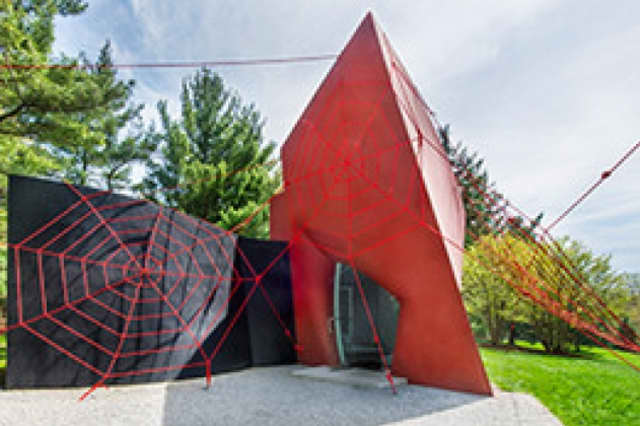 The Philip Johnson Glass House in New Canaan hosts its first site-specific exhibition: SNAP! by E.V. Day.
