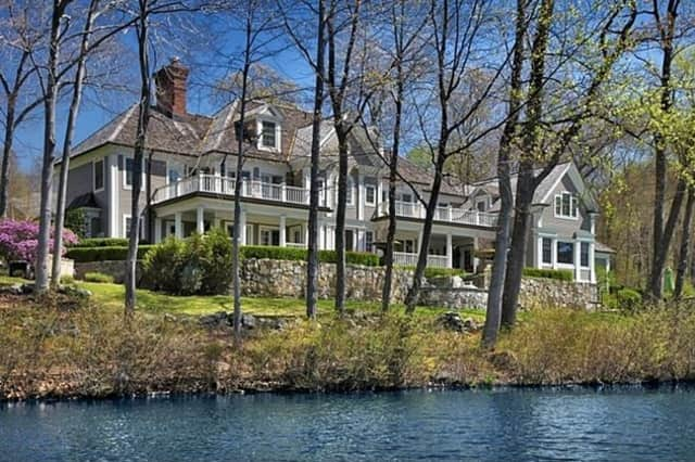 The sale of this home on Clearview Lane in New Canaan for $5.2 million last month was the highest priced home sold in the town this year.