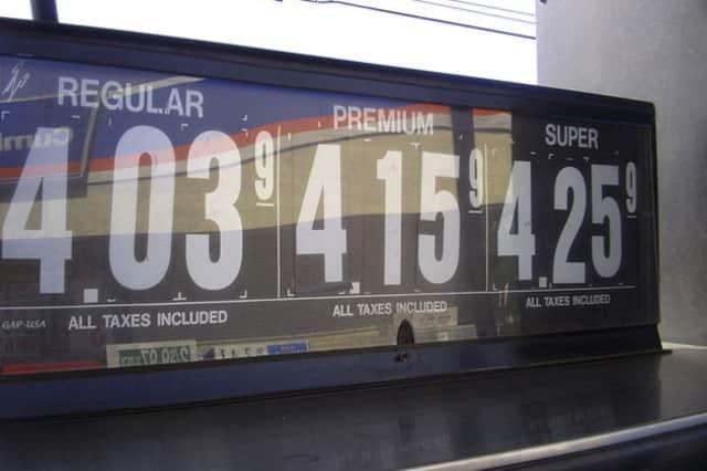 Gas prices are on the rise around Pelham.