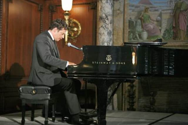 Harry Connick Jr. has a Steinway piano in his New Canaan home.