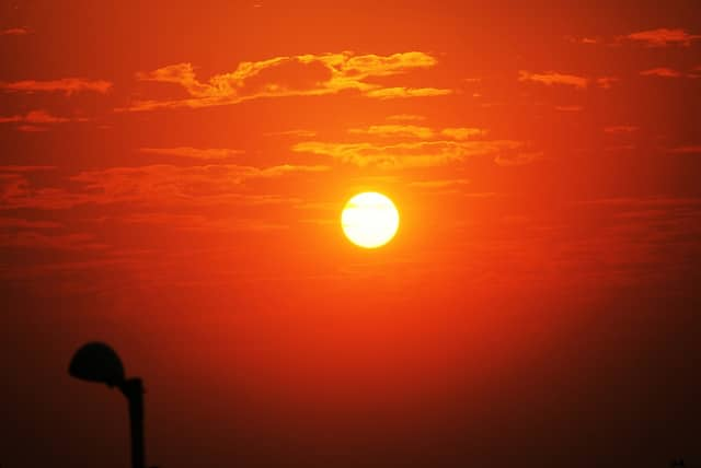 North Salem experienced a sweltering heat wave this week as temperatures hovered in the mid-90s.