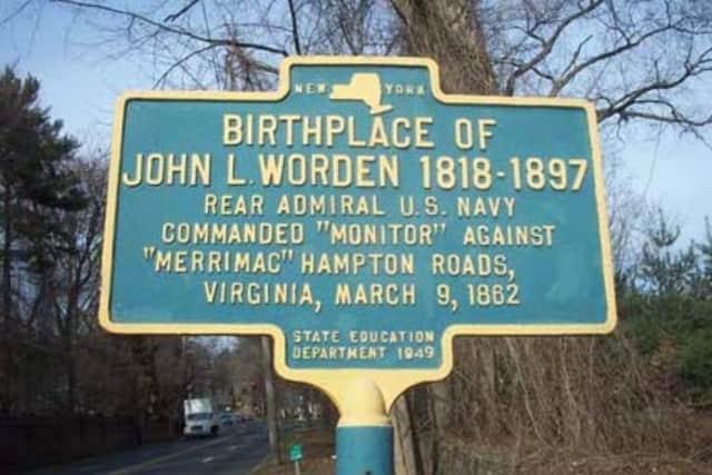 Ossining's John L. Worden was a a U.S. Navy hero during the Civil War.