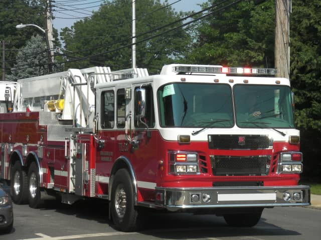 Summer storms and wind are being cited as the reason several power lines were knocked down in Mamaroneck, rupturing gas lines and setting several cars on fire early on the morning of July 23.