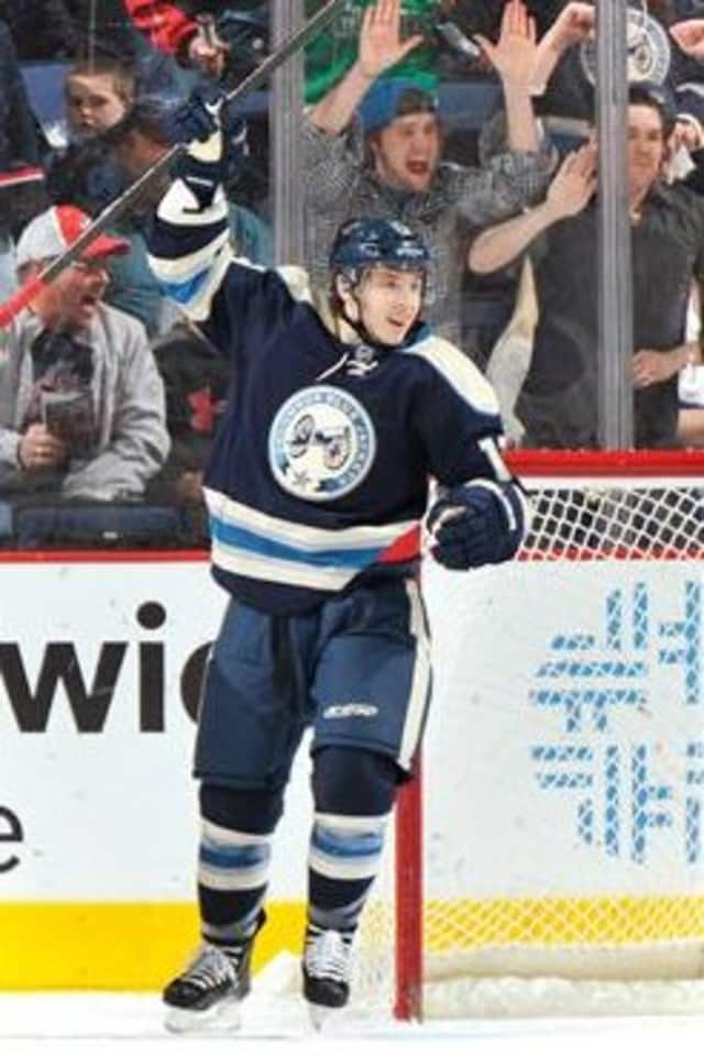 Greenwich native Cam Atkinson will host a fund-raiser for charity on Friday in Stamford.