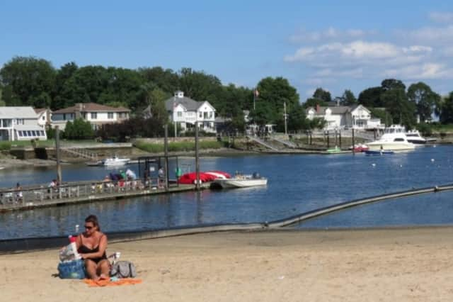 Ten Westchester beaches were closed to swimmers on Tuesday.