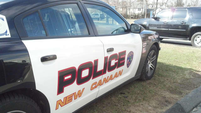 Cybelle Santodomingo of New Canaan, was charged with operating under the influence following a car crash earlier this year.