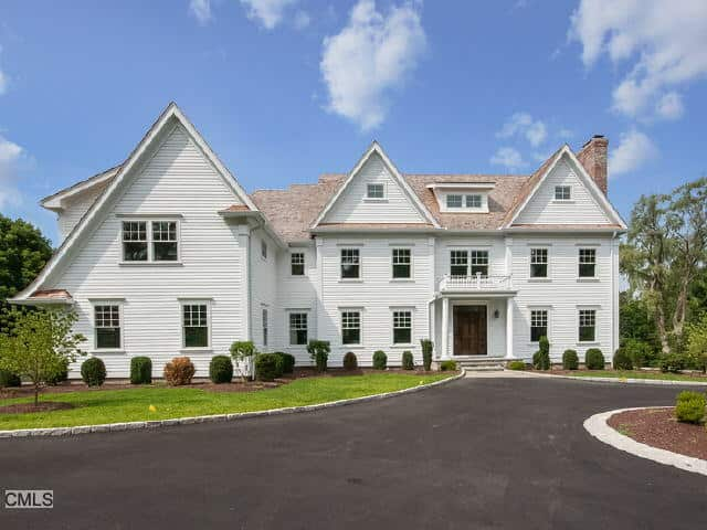 The home at 33 Hillbrook Road in Wilton recently sold for over $2 million.