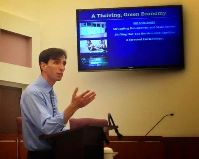 Westchester County Executive hopeful Noam Bramson will continue his town hall style speech series for Eastchester and Mount Vernon residents.
