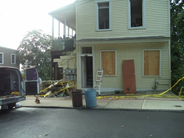 The Village of Ossining confirmed that it is investigating the home where a fire left 11 people homeless.