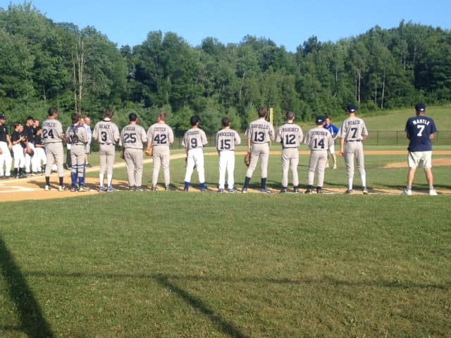 North Salem boys are playing in the Baumler Robson Baseball Tournament at 6 p.m. Thursday at Volunteers Park in honor of Jack Baumler and Michael Robson whose lives were lost during Hurricane Sandy.