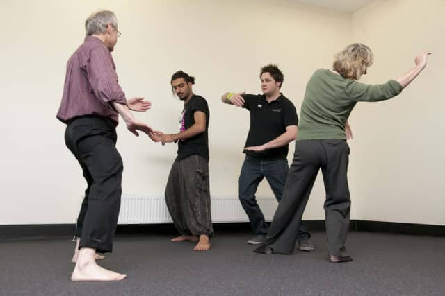 """Learn tai chi as part of """"Celebrate Aging,."""" the first Livable Communities Age-Friendly Village Fair set for Sept. 17."""