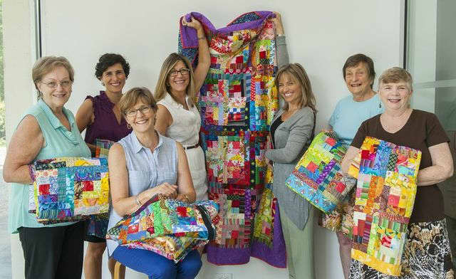 The Katonah Museum of Art donated 10 quilts to My Sister's Place and to babies born at the Bedford Women's Correctional Facility.