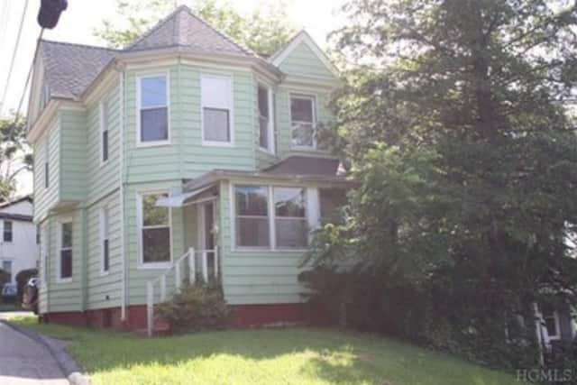 This house at 20 Independence Place in Ossining is open for viewing this Sunday.