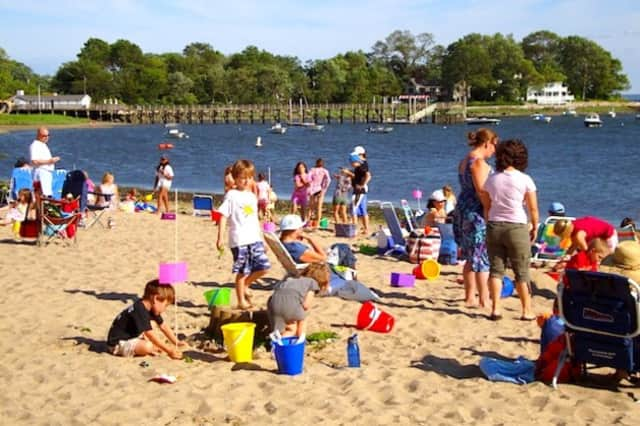 Families can enjoy a day at the beach on Thursday, which is expected to be sunny and warm.