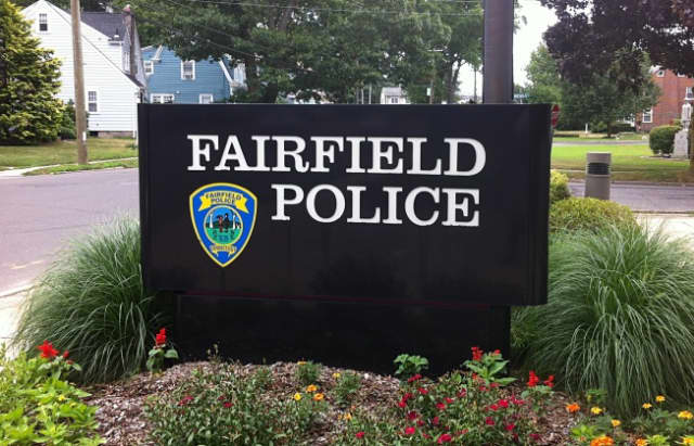 The Fairfield Police Department chased a stolen vehicle into Bridgeport where the driver got away.