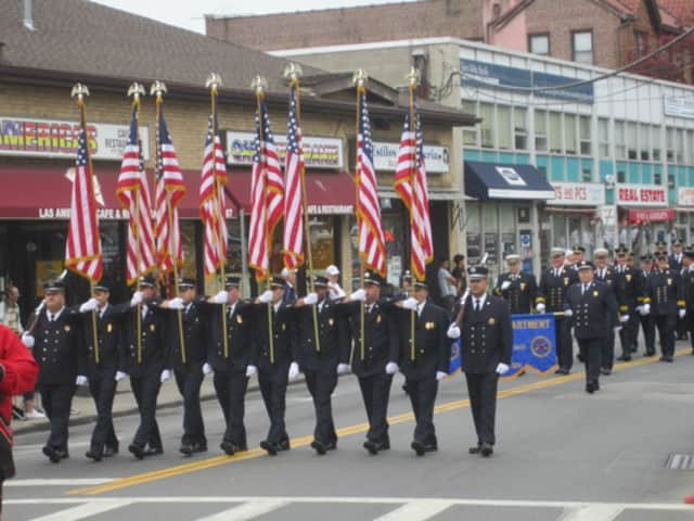 The Ossining Fire Department's annual parade starts at 7 p.m. Friday.