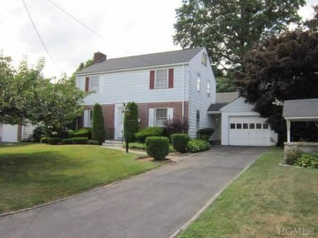 This house at 55 Johnson Road in Scarsdale is open for viewing this Sunday
