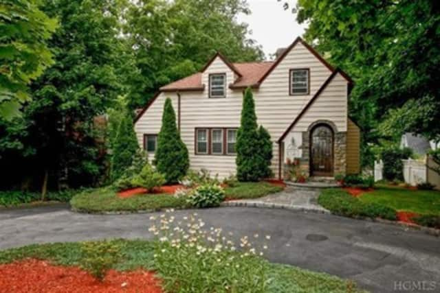 This house at 379 Scarsdale Road in Tuckahoe is open for viewing this Sunday.