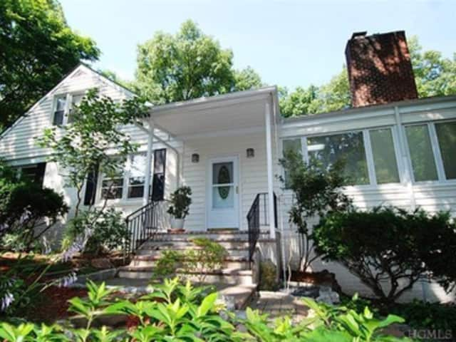 This house at 56 Rockledge Road in Hartsdale is open for viewing this Sunday.