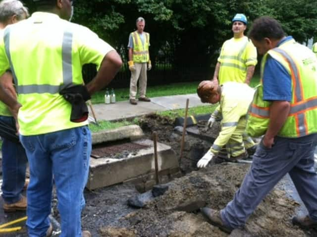 A broken gas valve caused two streets to be evacuated in Ridgefield