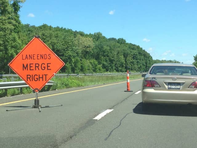 Drivers should be alert for construction on the Hutchinson River Parkway in Pelham Manor this week.