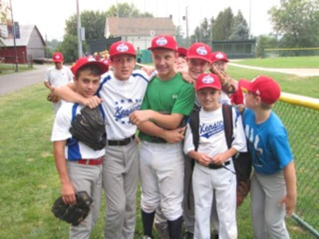 Four Valhalla boys spent a week at baseball camp in the Little League's tournament site at Williamsport, Pa.
