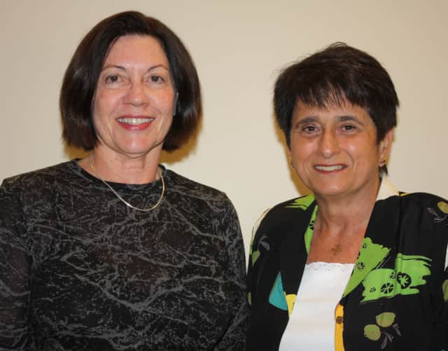 Waveny Care Network's Geriatric Care Management team Melissa Mayernik and Joan Merrill.