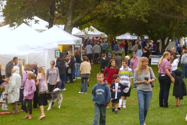 This year's Lewisboro Library Fair will be Sept. 21.