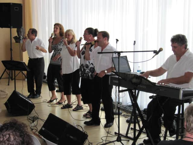 The crowd-pleasing vocal oldies group, In Harmony, performs its repertoire of '50s, '60s and '70s songs for the sixth straight year at Wilton Library's Summer Music & More Concert Series on Saturday at 7 p.m.