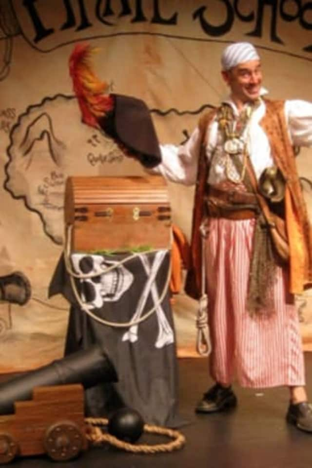 David Engel will take his pirate act to Tuckahoe on Friday.