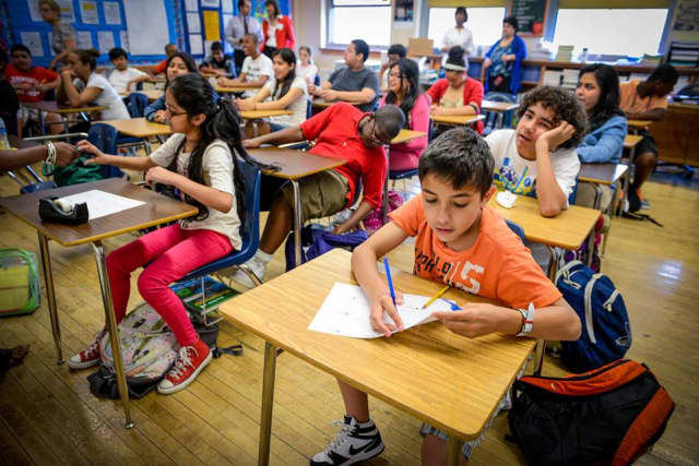 The majority of Yonkers students scored much lower than the state average.