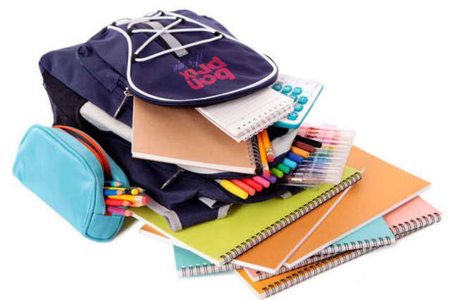 Mount Vernon students will be presented with school supplies.