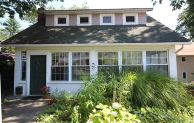 This house at 62 Spring St. in Tarrytown is open for viewing on Sunday.