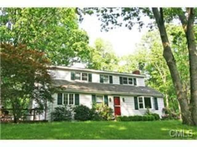 This house at 46 McFadden Drive in Wilton is open for viewing this Sunday.