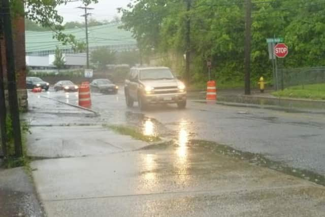 Heavy rain Friday may cause localized flooding in parts of Fairfield County.