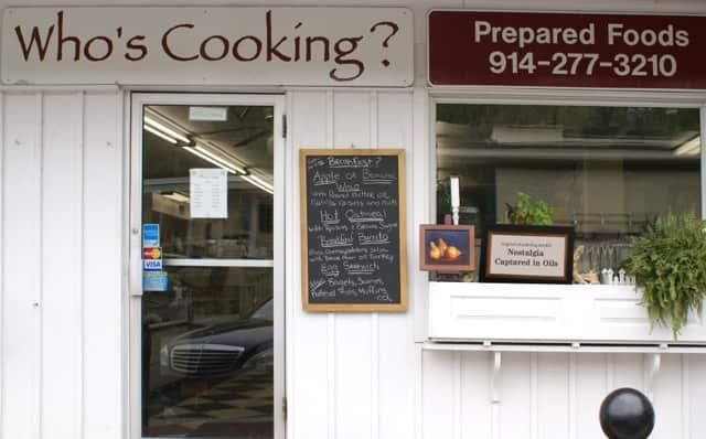 Who's Cooking, in Croton Falls, is hosting a display of oil paintings by Dorothy Lorenze.