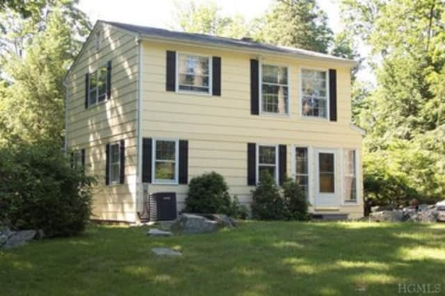 This house at 6 Old Snake Hill Rd in Pound Ridge is open for viewing this Sunday.