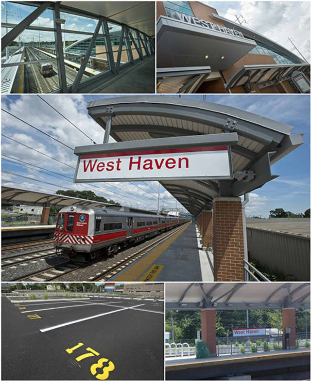 West Haven Station, situated between New Haven and Milford stations on the New Haven Line, is opening for business on Sunday.