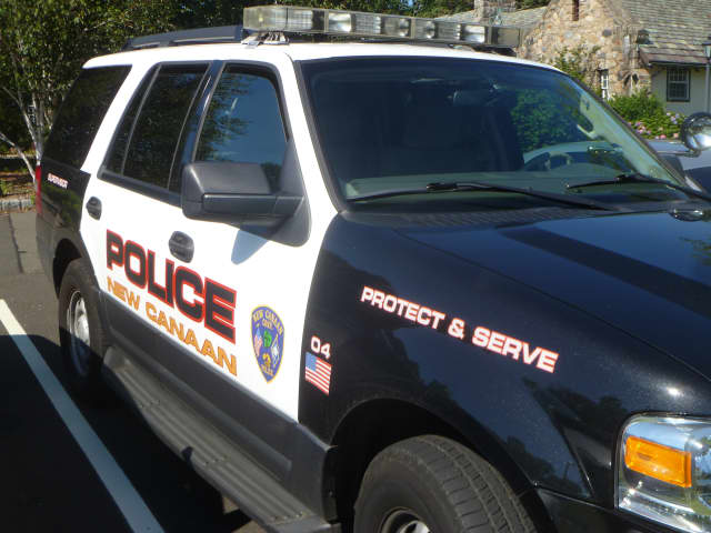 A New Canaan woman was caught shoplifting for the second time in recent weeks on Friday.