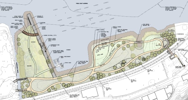 The Peekskill City Council unanimously approved a contractor Monday night for the Peekskill Landing waterfront development project.